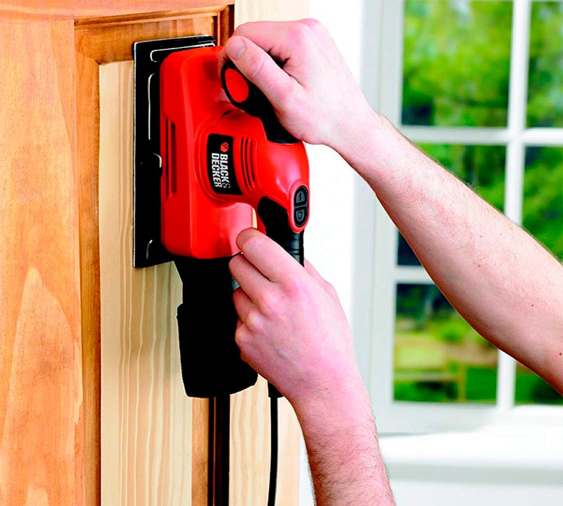 lijadora black and decker para madera