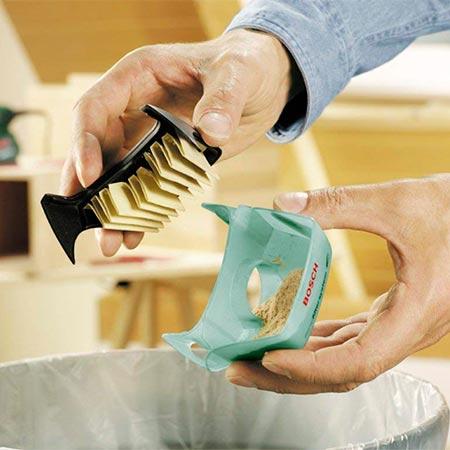 microfiltro de caja recoleccion de polvo