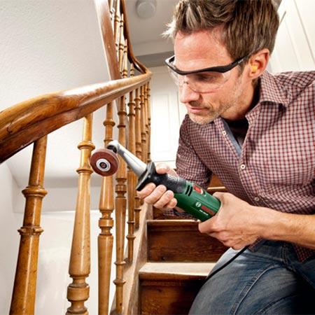 lijadora de rodillo para madera Bosch