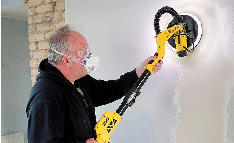 Cómo lijar una pared de cemento