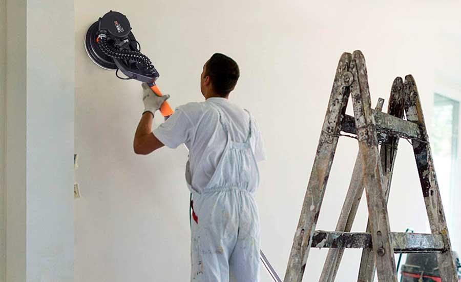 Cómo lijar una pared de yeso