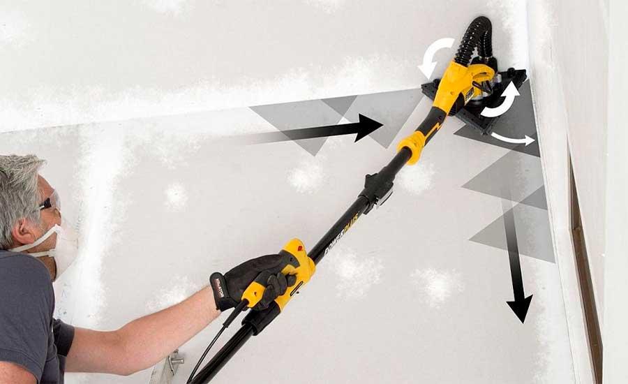 Cómo lijar una pared sin polvillo