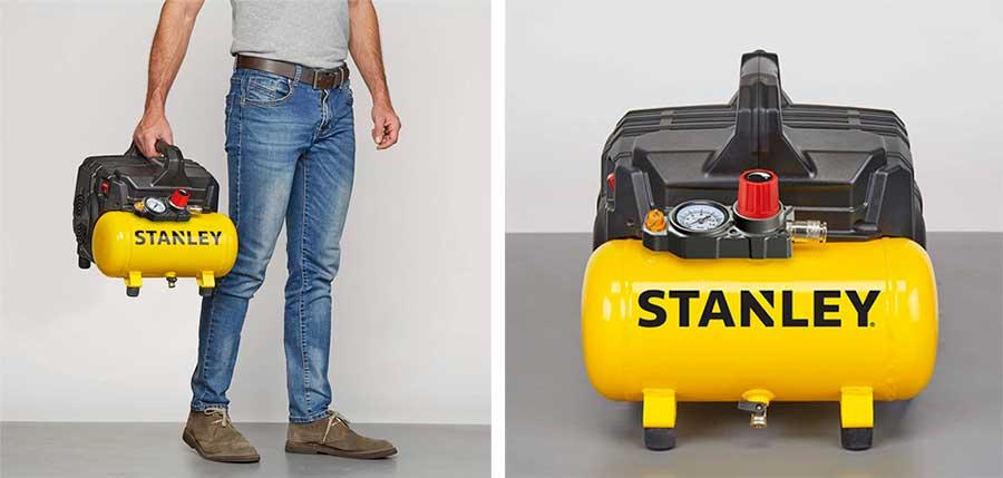 compresor de aire silencioso Stanley B2BE104STN703