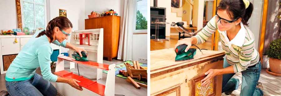 como lijar un mueble pintado